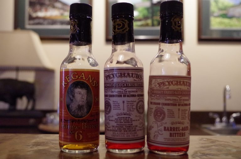 Regans' and Peychaud's bitters produced at Buffalo Trace