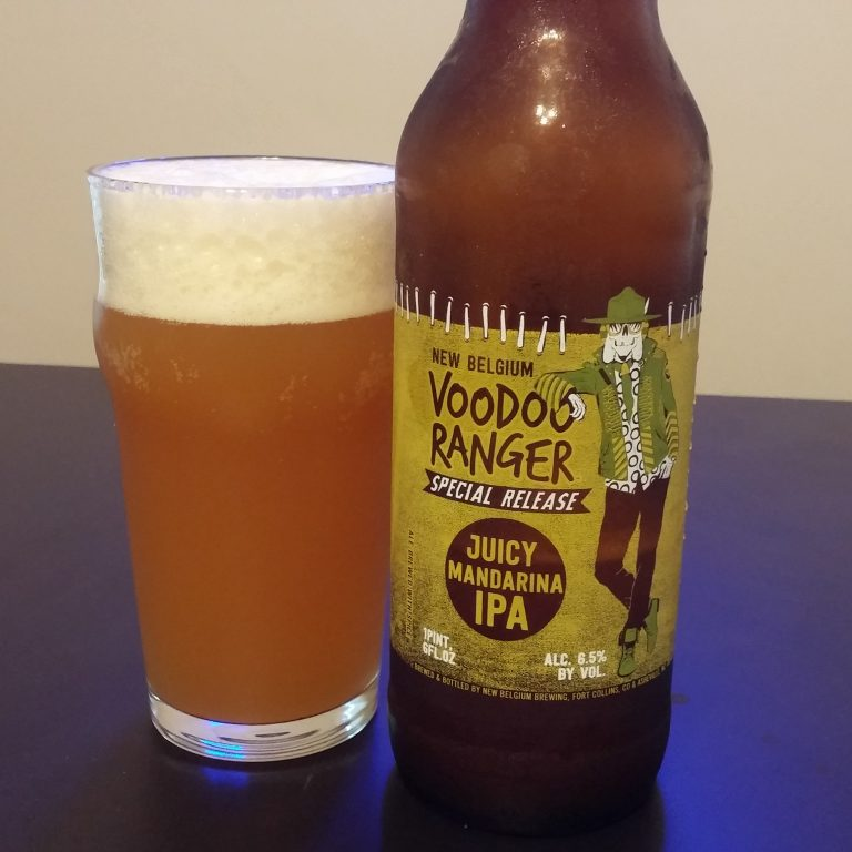 review new belgium voodoo ranger juicy mandarina ipa alcohol