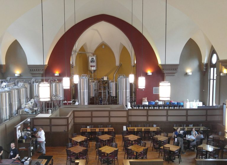 the tap room at St. Joseph's