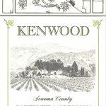 The 1975 rejected skeleton label, courtesy Kenwood Vineyards