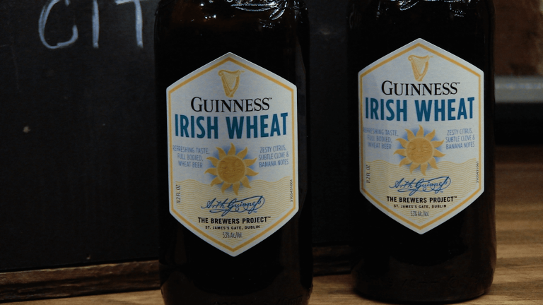 Guinness Irish Wheat Bottles