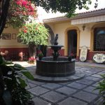Museo courtyard