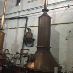 Tiny stills at Fortaleza make powerful tequila!