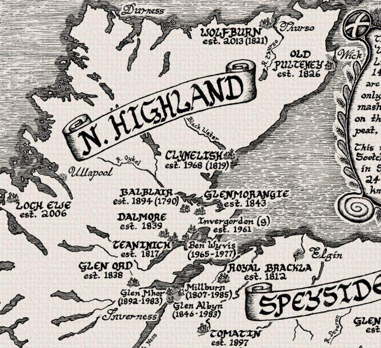 courtesy Manuscript Maps