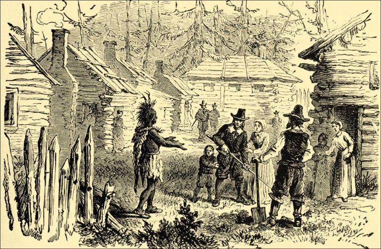 Squnato Visits the Pilgrims