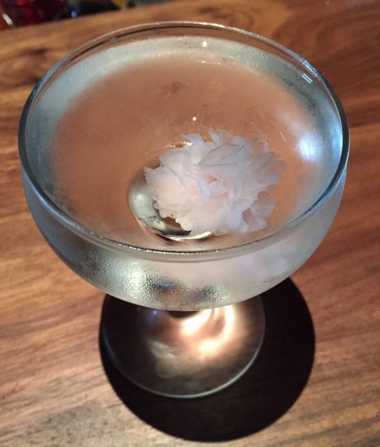 Sakura Martini, photo by Amanda Schuster
