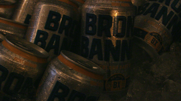 Bronx Banner Cans