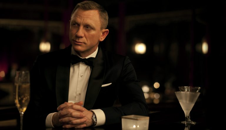Daniel Craig as James Bond with a Vesper in 2006's Casino Royal