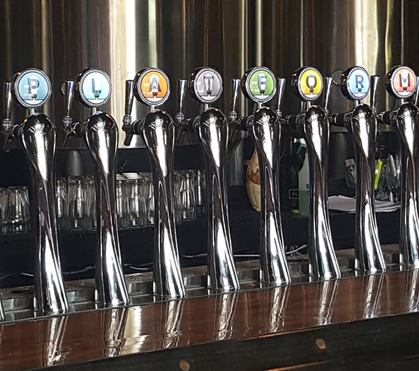 Taps at Platform Beer Company