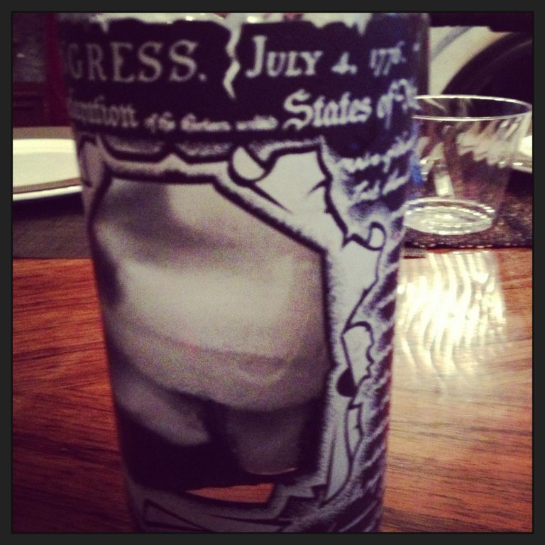 What's in your Declaration of Independence collins glass this holiday? Photo by Amanda Schuster