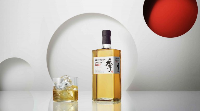 Suntory time for your father figure, photo by Suntory Whisky