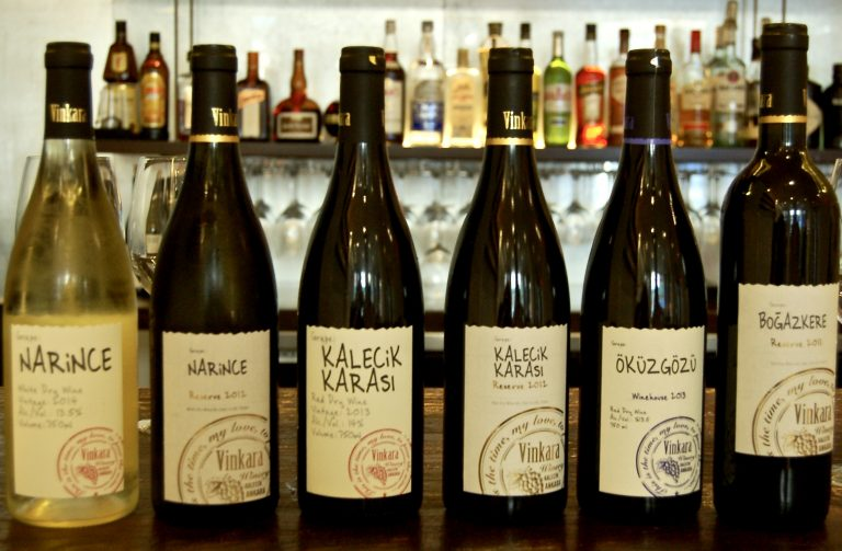 Wines of Vinkara, photo by Amy Miller