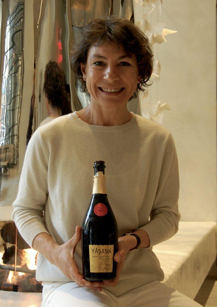 Vinkara winemaker Ardiç Gürsel, photo by Amy Miller