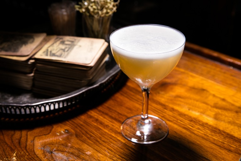 Eidolon cocktail at Dead Rabbit, photo courtesy Dead Rabbit