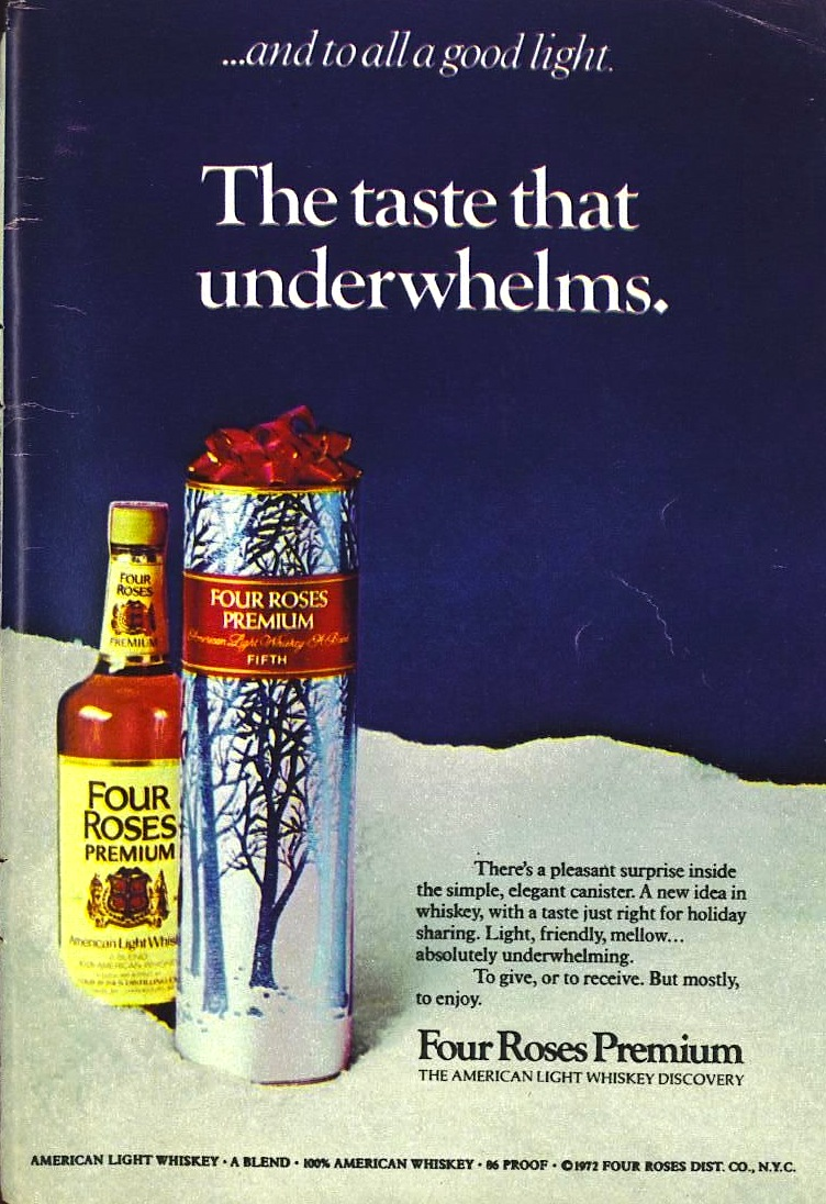 Four Roses, 1972