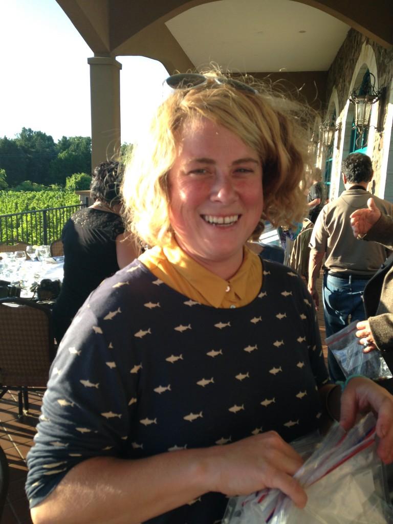 Jenna LaVita - Winemaker Ventosa Vineyards, photo by Christine Campbell