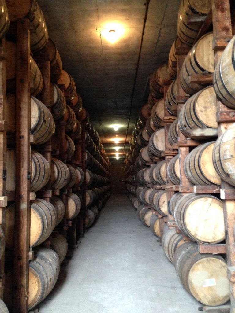 W.L. Weller barrels getting their beauty sleep at Buffalo Trace