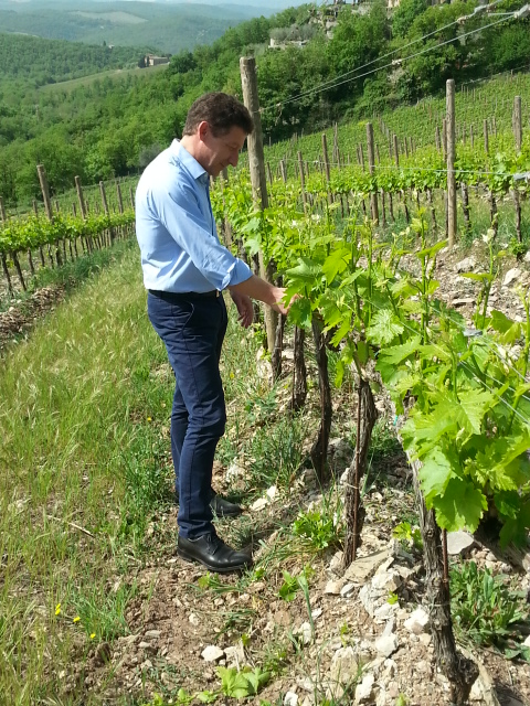 Christophe Olivier in the field