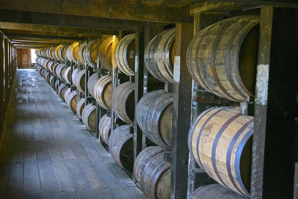 Barrels at Heaven Hill, photo by wplynn
