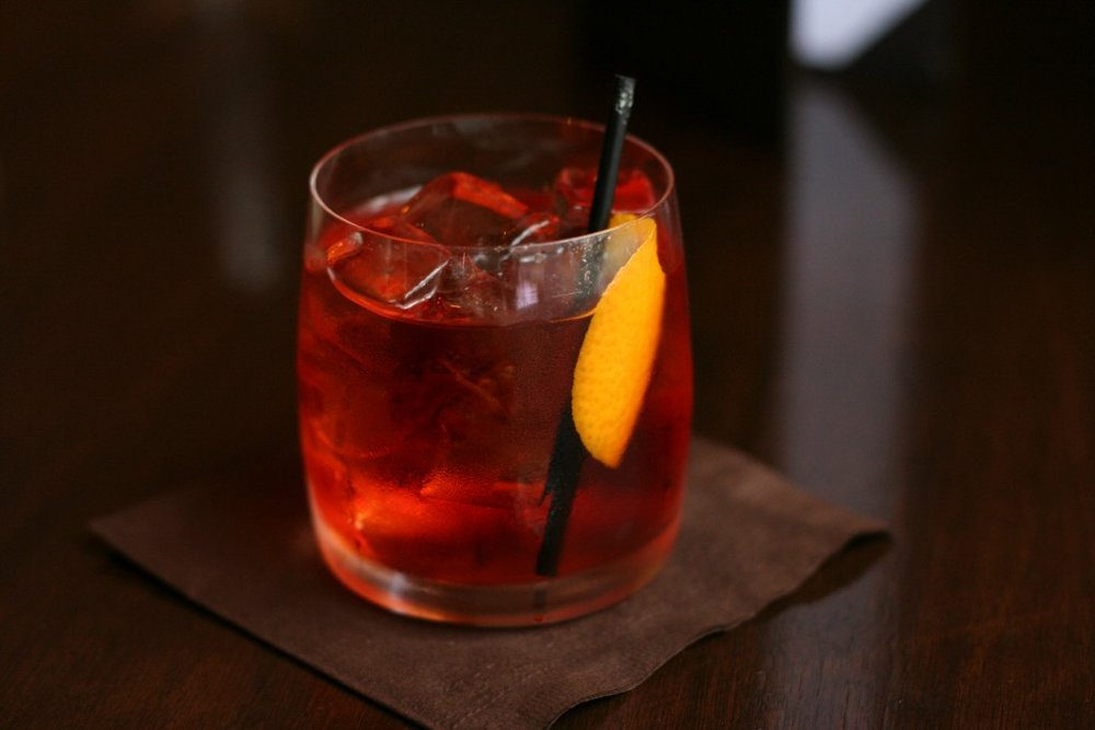 Negroni served in Vancouver BC by Geoff Peters via Wikimedia Commons