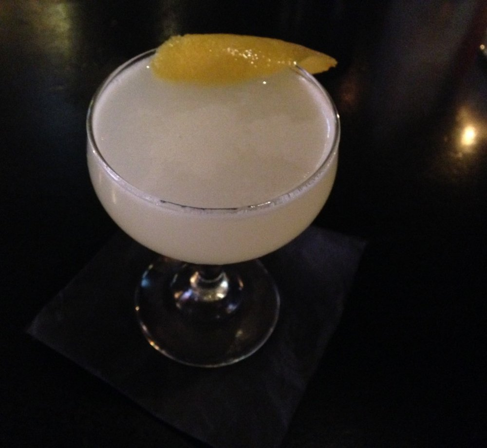 The Corpse Reviver No. 2, one of our favorite spring cocktails, made by Bryan Teoh, photo by Amanda Schuster