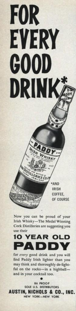 Paddy, 1962