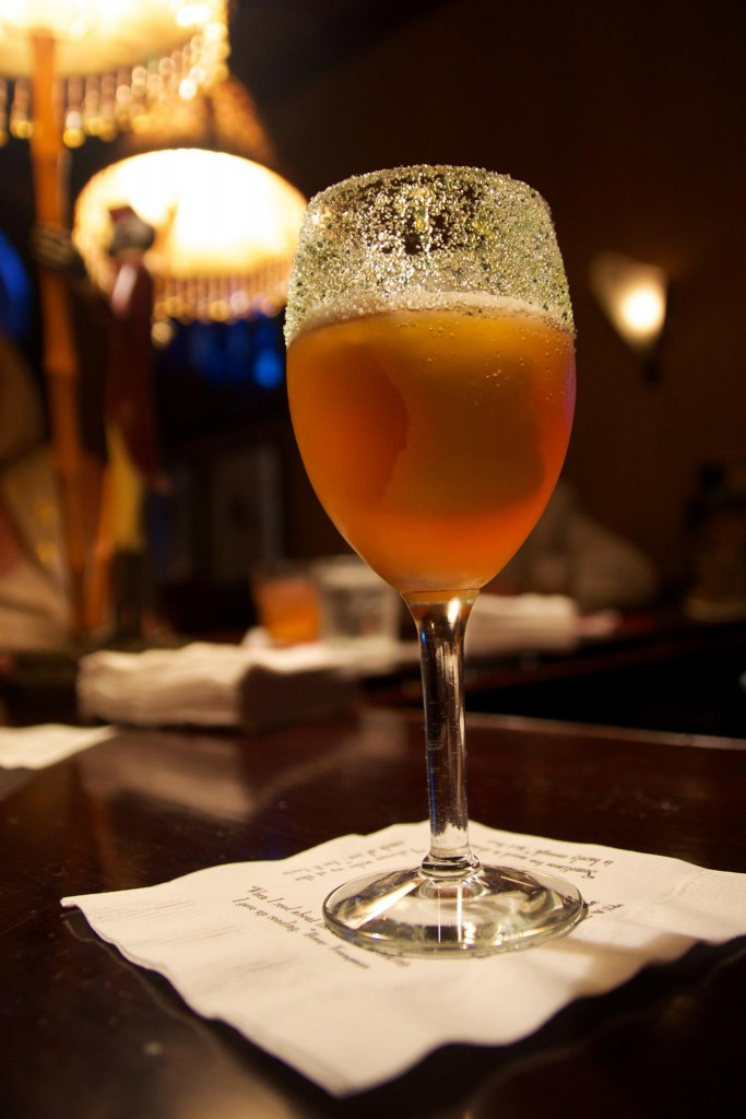 Brandy Crusta at Arnaud's French 75, New Orleans, photo by Scott Gold