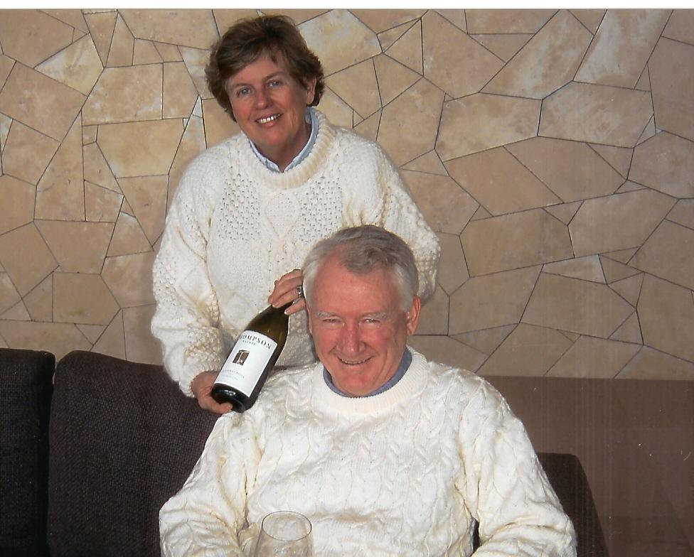 Jane and Peter Thompson, ctsy Thompson Estate