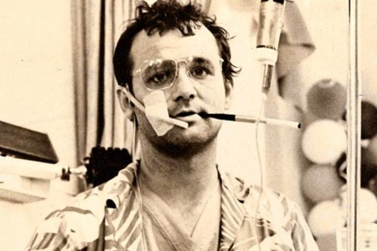 Murray as Thompson in Where the Buffalo Roam