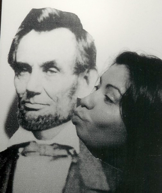 Liz Garabay loves Lincoln!