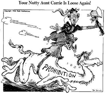 Dr. Seuss Prohibition cartoon