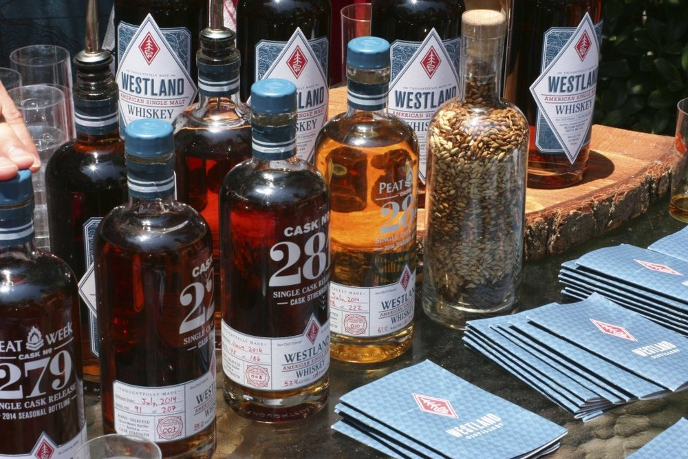 tasting at Westland distillery, photo by Keith Allison