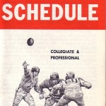 Season schedule from Early Times, 1963