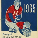 Green Bay Packers schedule from Hamm's, 1965
