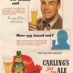 Randolph Scott for Carling's Red Cap Ale, 1950