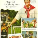 David Niven for Schenley, 1951