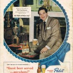 Sid Luckman for Pabst, 1949