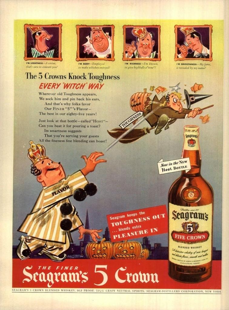 Seagram's, 1942