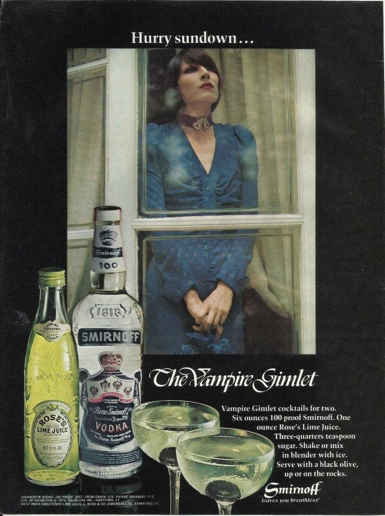 Smirnoff, 1972