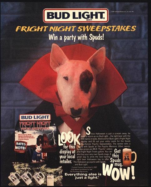 Bud Light, 1987