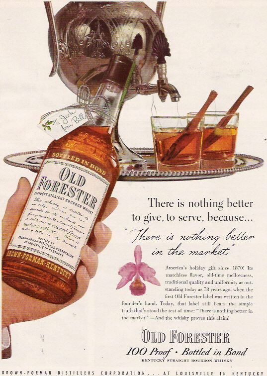 Old Forester, 1948