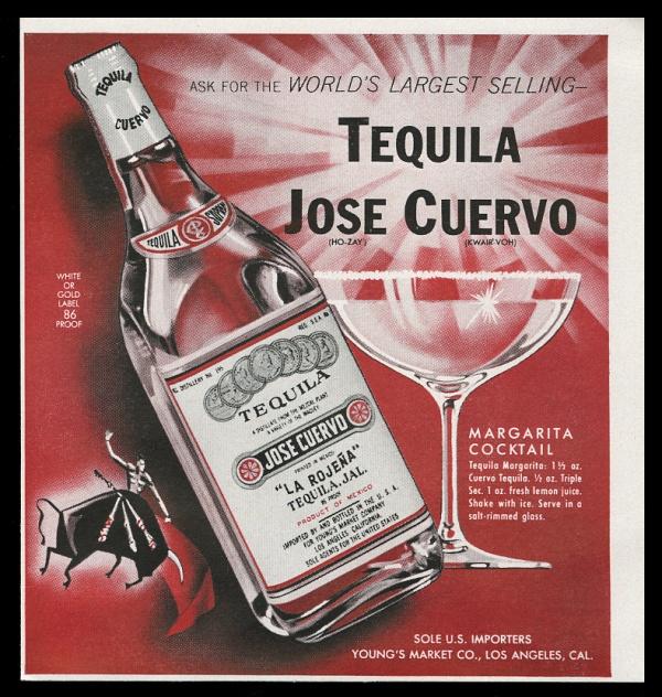 Jose Cuervo, 1964