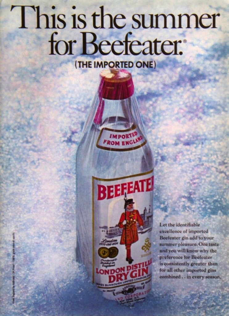 Beefeater, 1969