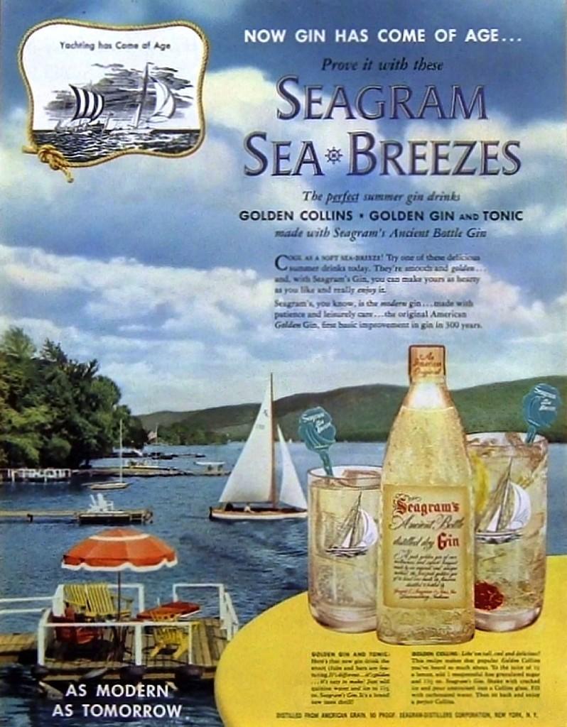 Seagram's, 1952