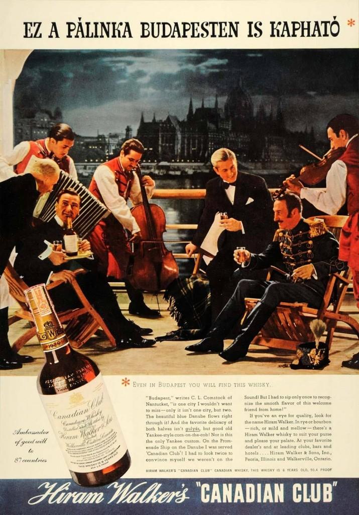 Canadian Club, 1937