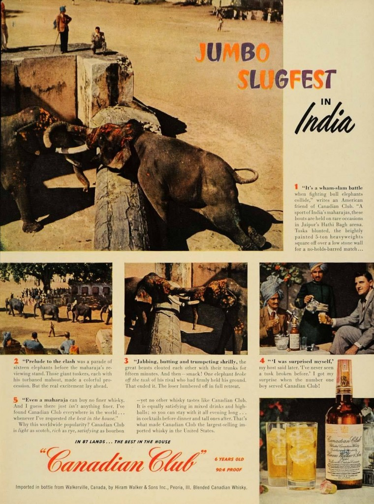 Vintage Ad Archive Booze Around The World Alcohol Professor