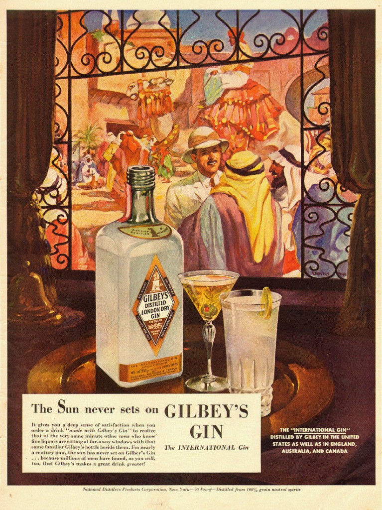 Gilbey's Gin, 1940
