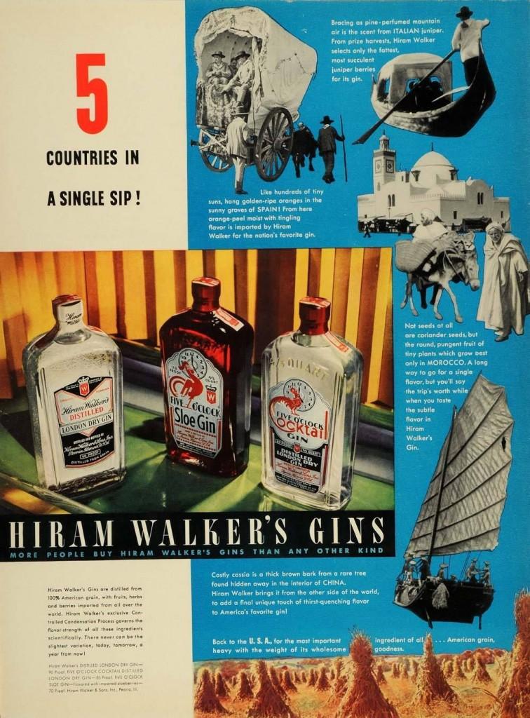 Hiram Walker, 1937