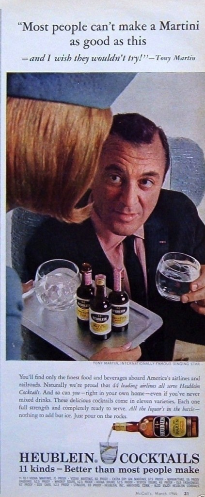 Heublein Cocktails, 1965
