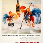 A 1946/1947 ad for Schenley Reserve Whiskey
